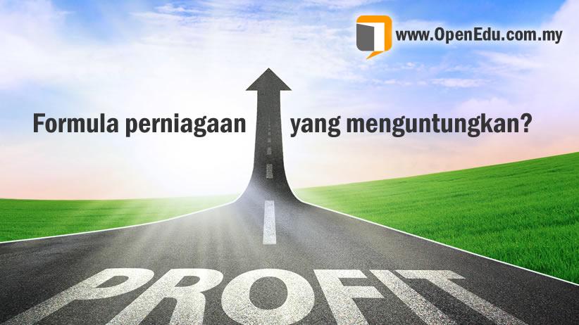 formula perniagaan