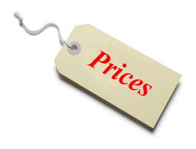 menetapkan harga barang dalam perniagaan perniagaan kewangan