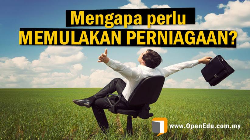 memulakan perniagaan