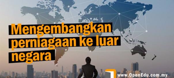 Perniagaan ke luar negara