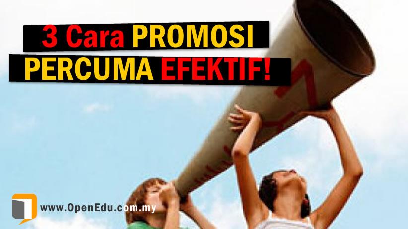 promosi percuma