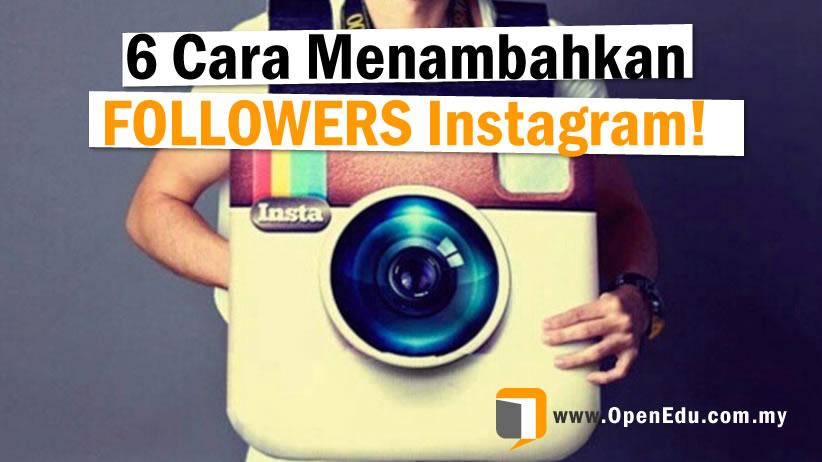 tingkatkan followers instagram